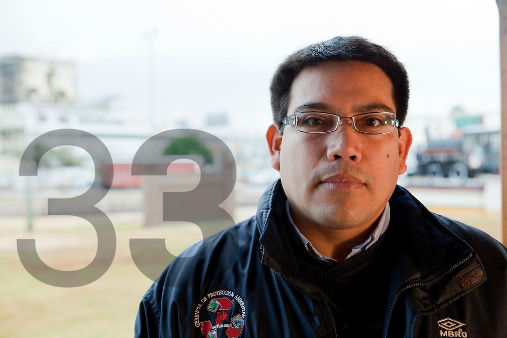 Hector Solorio de Refinería Met-Mex, de la Gerencia de Protección Ambiental