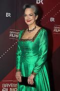 Irina Wanka auf dem Roten Teppich anlässlich der Verleihung des 41. Bayerischen Filmpreises 2019 am 17.01.2020 im Prinzregententheater München.