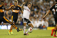 Kevin McDonald of Fulham (c) in action. Skybet EFL championship match, Fulham v Newcastle Utd at Craven Cottage in Fulham, London on Friday 5th August 2016.<br /> pic by John Patrick Fletcher, Andrew Orchard sports photography.