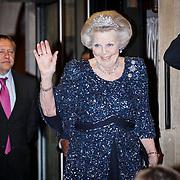 NLD/Amsterdam/20160520 -  Koning Willem-Alexander en Koningin Máxima ontvangen het Corps Diplomatique voor het jaarlijkse galadiner, Prinses Beatrix