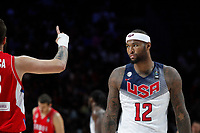 United States´s Cousins during FIBA Basketball World Cup Spain 2014 final match between United States and Serbia at `Palacio de los deportes´ stadium in Madrid, Spain. September 14, 2014. (ALTERPHOTOSVictor Blanco)