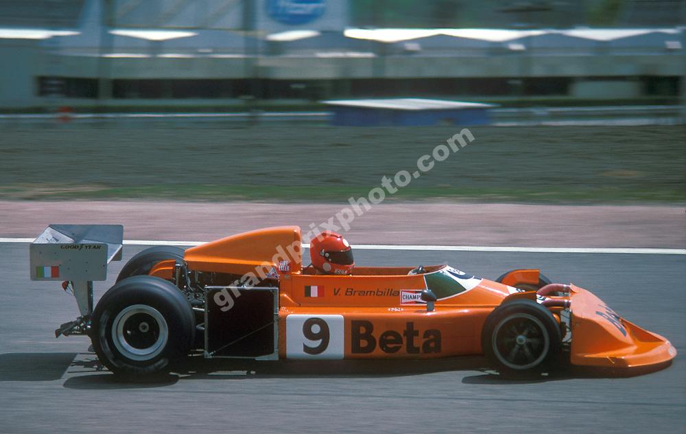 Vittorio Brambilla (March-Ford) in the 1976 Spanish Grand Prix at Jarama. Photo: Grand Prix Photo