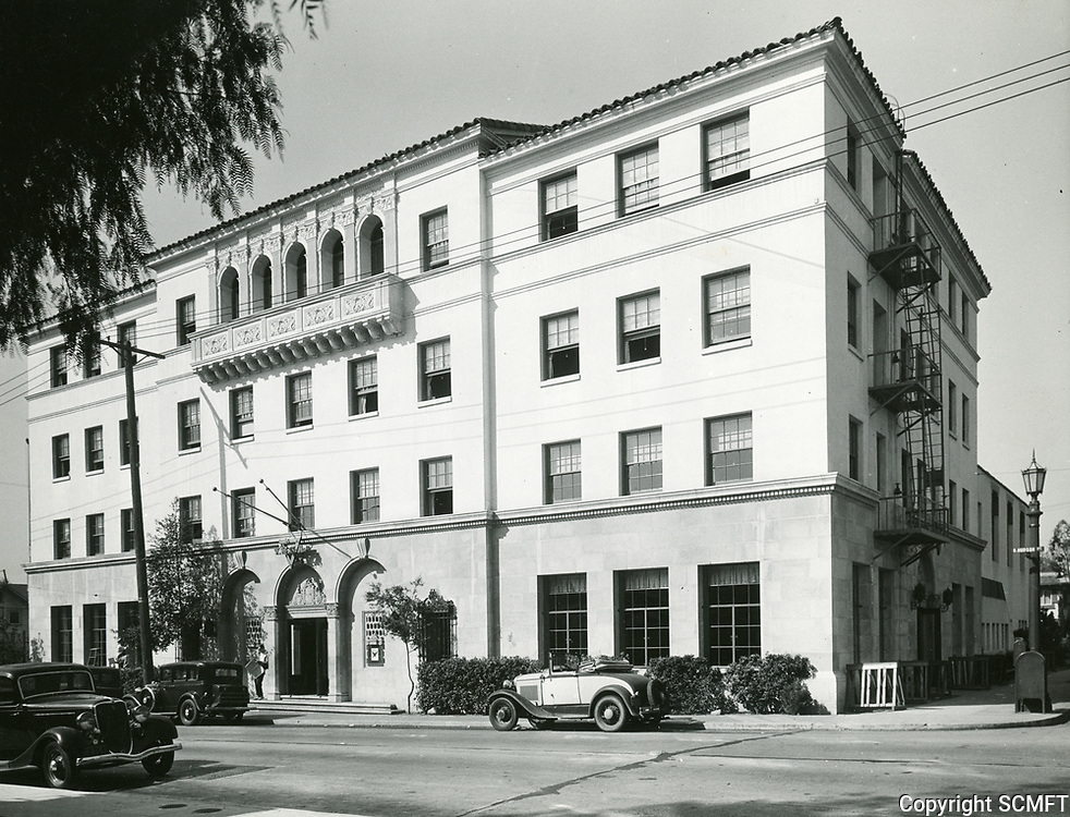 1937 The Hollywood YMCA on the SW corner of Selma Ave. and Hudson Ave. (now Schrader Blvd.)