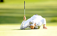 LA JOLLA, CA - FEBRUARY 08: Camilo Villegas of Columbia during the fourth round of the Buick Invitational at the Torrey Pines North Course on February 8, 2009 in La Jolla, California. (Photo by Rob Tringali/) *** Local Caption *** Camilo Villegas