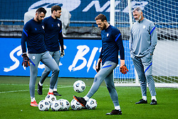 Jan Oblak during practice session prior to football match between national teams Slovenia and San Marino in UEFA Nations League 2020, October 6, 2020 in Stadium Stozice, Ljubljana, Slovenia. Photo by Grega Valancic / Sportida