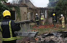 Builder Sets Fire to House