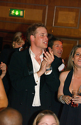 HRH PRINCE WILLIAM at the Boodles Boxing Ball in aid of the sports charity Sparks  organised by Jez lawson, James Amos and Charlie Gilkes held at The Royal Lancaster Hotel, Lancaster Terrae London W2 on 3rd June 2006.<br /> <br /> NON EXCLUSIVE - WORLD RIGHTS