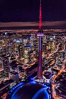 Entertainment District feat. CN Tower, Rogers Centre & Ripley's Aquarium of Canada