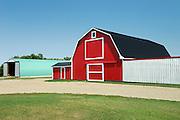 red barn <br /> Odessa<br /> Saskatchewan<br /> Canada