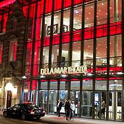 NLD/Amsterdam/20120313 - Verlichte DelaMar Theater in Amsterdam