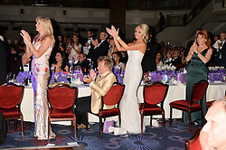 PENNY LANCASTER,  ROD STEWART, CLAIRE CAUDWELL and SARAH, DUCHESS OF YORK at The Butterfly Ball in aid of Caudwell Children held at the Grosvenor House, Park Lane, London on 25th June 2015