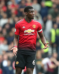 Manchester United's Paul Pogba during the Premier League match at the AMEX Stadium, Brighton.
