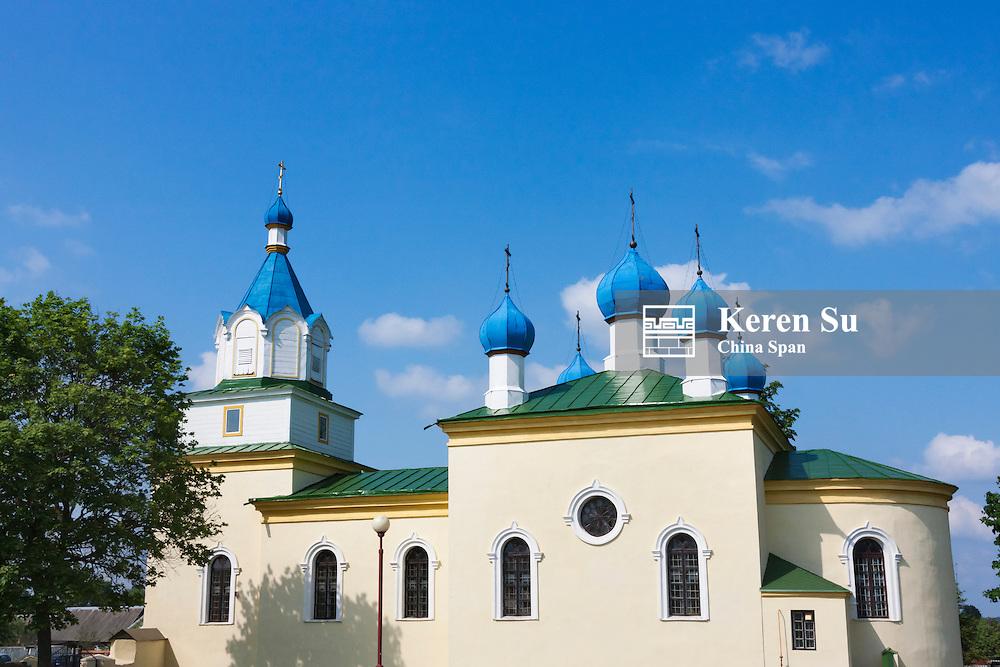 Orthodox church in Mir, Belarus