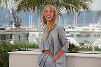 Actress Ingrid Garcia-jonsson at the photo call for the film Beautiful Youth (Hermosa Juventud) at the 67th Cannes Film Festival, Monday 19th May 2014, Cannes, France.