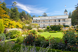 North America, United States, Washington, San Juan Islands, historic Hotel de Haro at Rosario marina