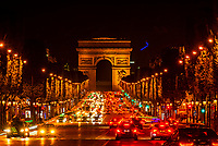 The Avenue des Champs-Elysees,  is an avenue in the 8th arrondissement of Paris, France, 1.9 kilometres long and 70 metres wide, running between the Place de la Concorde and the Place Charles de Gaulle, where the Arc de Triomphe is located.