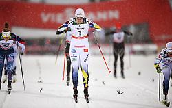 November 24, 2017 - Ruka, Finland - 171124 Ida Ingemarsdotter, Sverige, under kvartsfinalen i sprint under världscuppremiären i skidor den 24 november 2017 i Ruka  (Credit Image: © Petter Arvidson/Bildbyran via ZUMA Wire)