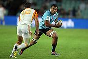 Wycliff Palu. Waratahs v Chiefs. 2013 Investec Super Rugby Season. Allianz Stadium, Sydney. Friday 19 April 2013. Photo: Clay Cross / photosport.co.nz