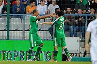 FOOTBALL - FRENCH CHAMPIONSHIP 2010/2011 - L1 - AJ AUXERRE v AS SAINT ETIENNE - 9/04/2011 - PHOTO GUY JEFFROY / DPPI - JOY ASSE