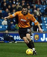 Fotball - Nationwide Division 1 - 21.12.2002<br /> Milwall v Wolves <br /> Marc Edworthy - Wolves<br /> Foto: Roger Parker, Digitalsport