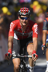 July 4, 2017 - Mondorf Les Bains / Vittel, Luxembourg / France - VITTEL, FRANCE - JULY 4 : WELLENS Tim (BEL) Rider of Team Lotto - Soudal during stage 4 of the 104th edition of the 2017 Tour de France cycling race, a stage of 207.5 kms between Mondorf-Les-Bains and Vittel on July 04, 2017 in Vittel, France, 4/07/2017 (Credit Image: © Panoramic via ZUMA Press)