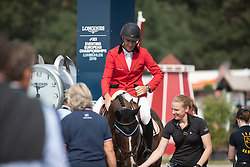 Van Rijckevorsel Constantin, BEL, Beat It<br /> European Championship Eventing<br /> Luhmuhlen 2019<br /> © Hippo Foto - Stefan Lafrentz<br /> 01/09/2019