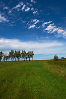 Midwest Summer Sky Panorama. Rest Area along Interstate 29 in South Dakota. Image 3 of 9 taken with a Nikon D3x and 24 mm f/1.4G lens (ISO 100, 24 mm, f/11, 1/800 sec).