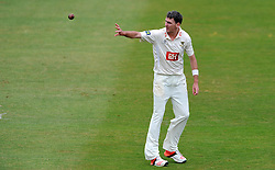 Sussex's Steve Magoffin - Photo mandatory by-line: Harry Trump/JMP - Mobile: 07966 386802 - 06/07/15 - SPORT - CRICKET - LVCC - County Championship Division One - Somerset v Sussex- Day Two - The County Ground, Taunton, England.