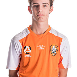 BRISBANE, AUSTRALIA - NOVEMBER 10:  Oliver Duncan of the Roar poses for a photo during the Brisbane Roar Youth headshot session at QUT Kelvin Grove on November 10, 2017 in Brisbane, Australia. (Photo by Patrick Kearney / Brisbane Roar)