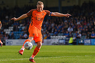 Southend United midfielder Sam Mantom (18) during the EFL Sky Bet League 1 match between Gillingham and Southend United at the MEMS Priestfield Stadium, Gillingham, England on 13 October 2018.