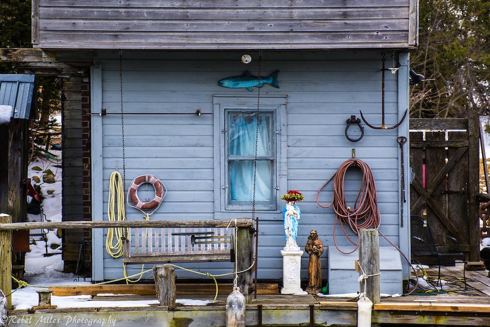 Leland Michigan Boat House