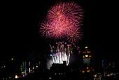 Edinburgh Hogmanay firework