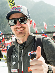 Adam Małysz of Poland after the Ski Flying Hill Men's Team Competition at Day 3 of FIS Ski Jumping World Cup Final 2017, on March 25, 2017 in Planica, Slovenia. Photo by Vid Ponikvar / Sportida