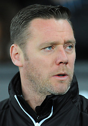 Notts County manager Kevin Nolan looks on - Mandatory by-line: Nizaam Jones/JMP - 06/02/2018 - FOOTBALL - Liberty Stadium - Swansea, Wales - Swansea City v Notts County - Emirates FA Cup fourth round proper