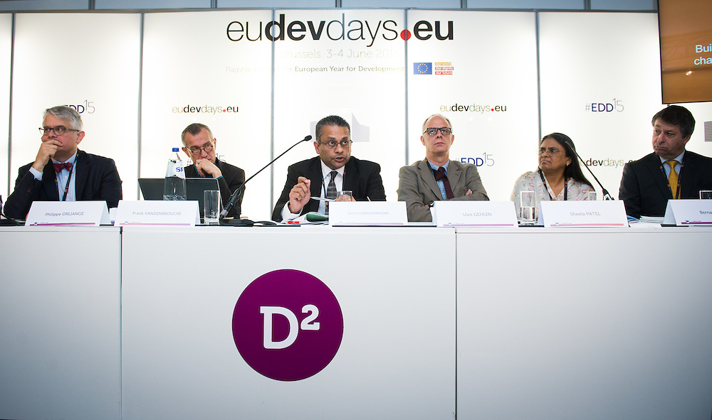 03 June 2015 - Belgium - Brussels - European Development Days - EDD - Inclusion - Building a caring world-A common challenge for Europe and emerging countries © European Union