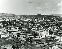 1929 Looking NE at Santa Monica Blvd. from Highland Ave.