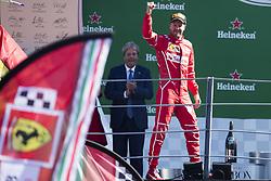 September 3, 2017 - Monza, Italy - Motorsports: FIA Formula One World Championship 2017, Grand Prix of Italy, ..#5 Sebastian Vettel (GER, Scuderia Ferrari) (Credit Image: © Hoch Zwei via ZUMA Wire)