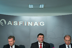 "06.02.2017, Asfinag Zentrale, Wien, AUT, ASFiNAG, Pressekonferenz mit dem Titel ""Verkehrs- und Tunnelsicherheit im Fokus"", im Bild TEXT // during press conference of the Asfinag in Vienna, Austria on 2017/02/06, EXPA Pictures © 2017, PhotoCredit: EXPA/ Michael Gruber"