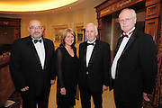 Gerry Haslan, Ability West, Breda Crehan Roche, CEO Ability West, Paraic Lawless, Chairman Ability West and Adrian Harney, Ability West at the  Ability West, at the second annual Best Buddies ball, 2010 in the Galway Bay Hotel, Salthill Galway. Photo:Andrew Downes.