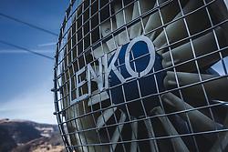 THEMENBILD - das Detail einer Schneekanone, aufgenommen am 15. November 2018 in Kaprun, Österreich // the detail of a snowblower, Kaprun, Austria on 2018/11/15. EXPA Pictures © 2018, PhotoCredit: EXPA/ Stefanie Oberhauser