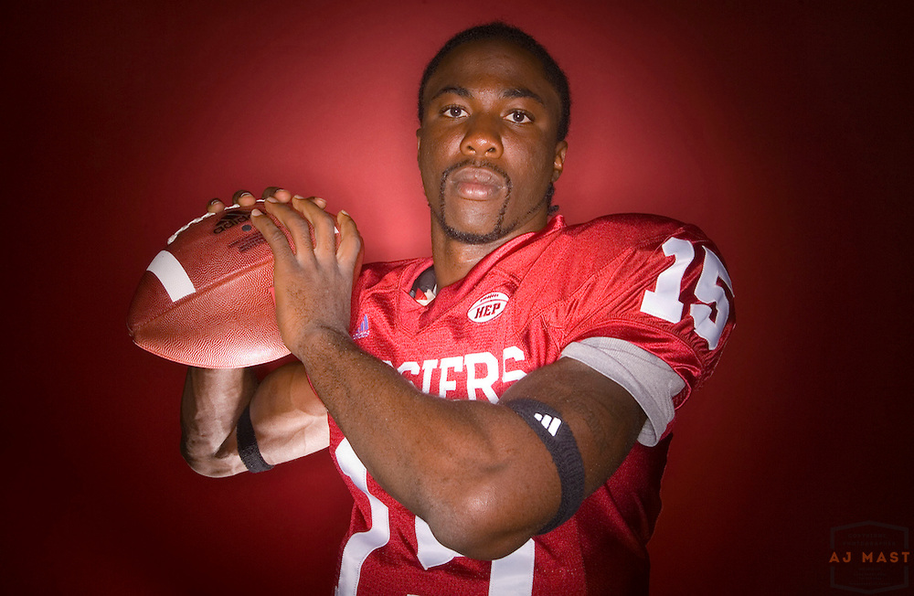 14 August 2007: Indiana's Kellen Lewis poses for a portrait during media day in Bloomington, Ind.