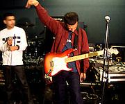 Asian Dub Foundation Rehearsal session
