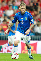 Italy's Daniele De Rossi during FIFA World Cup 2018 Qualifying Round match. September 2,2017.(ALTERPHOTOS/Acero)