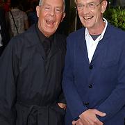 NLD/Huizen/20050706 - Premiere Nieuw Groot Chinees Staatscircus, Hans van Manen en partner