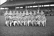 Neg No: .722/9803-9807...20031955CSF...20.03.1955..Colleges Semi-Final .Munster v. Leinster at Croke Park...Leinster Team