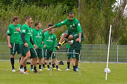 05.07.2011, An der Muehle, Norderney, GER, 1.FBL, Trainingslager Werder Bremen, im Bild Wesley (Bremen #5).  // during trainingsession from Werder Bremen 2011/07/03    EXPA Pictures © 2011, PhotoCredit: EXPA/ nph/  Kokenge       ****** out of GER / CRO  / BEL ******