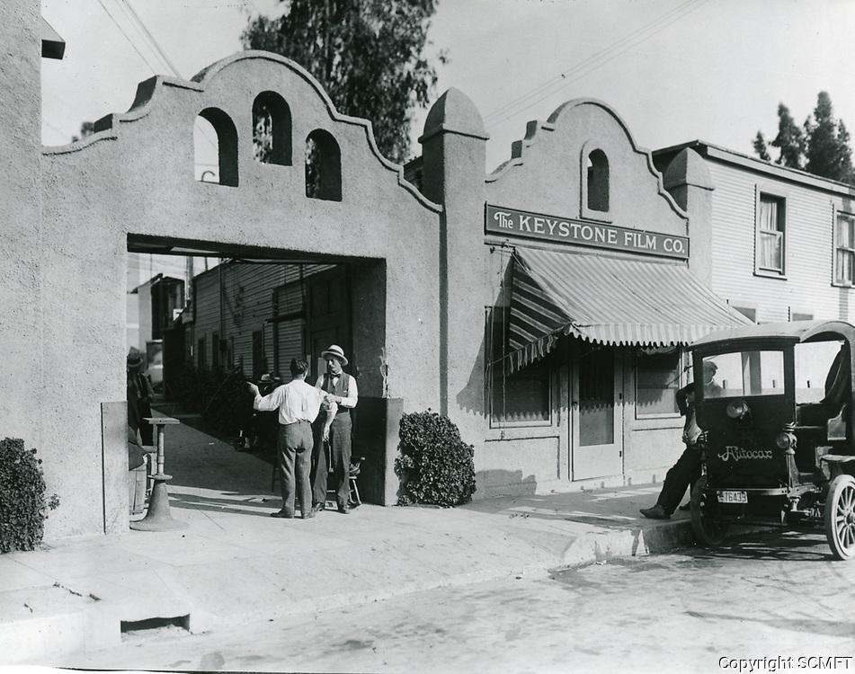 1918 Mack Sennett Keystone Studios in Edendale, CA