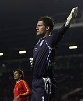 Photo: Paul Thomas.<br /> England v Spain. International Friendly. 07/02/2007.<br /> <br /> Ben Foster, New England keeper.