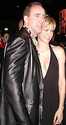 Nicolas Cage &Tea Leoni .Family Man Movie Premiere Party.The Palladium,. Los Angeles, Ca.Tuesday, December 13, 2000.Photo By CelebrityVibe.com..