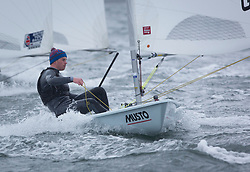 The RYA Youth National Championships 2018. Day 3<br /> <br /> 211857, Lewis Smith, Royal Forth Yacht Club, Laser Standard <br /> <br /> Images: Marc Turner / RYA<br /> <br /> For further information contact:<br /> <br /> Richard Aspland, <br /> RYA Racing Communications Officer (on site)<br /> E: richard.aspland@rya.org.uk<br /> m: 07469 854599